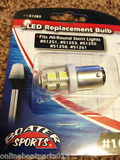 BOAT ALL AROUND STERN LIGHT LED BULB #1004,51251,51253,51255,51258,51261