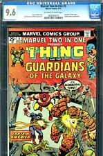 Marvel Two-In-One #5 CGC GRADED 9.6 - second highest graded - Guardians