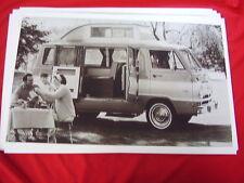 1965 DODGE A100 VAN CAMP WAGON    BIG 11 X 17  PHOTO  PICTURE