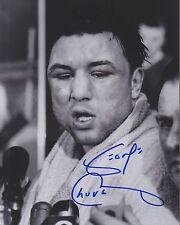 GEORGE CHUVALO Signed Autograph Auto 8x10 Boxing Picture Photo w/COA