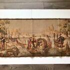 BELGIUM Tapestry VENICE Canals 19.5x57 Rectangular Italy Romantic 18th Century