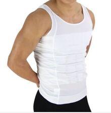 Da Uomo Body Slimming Sotto Camicia Slim N Lift Vest Compressione Top NG1