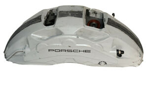 2016 - 2018 Porsche Cayenne Turbo S Front Left Caliper | 51-D2803-17110