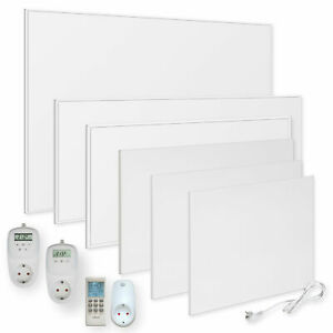 Infrarotheizung 300-1200W Infrarot Wandheizung Elektroheizung Thermostat Viesta