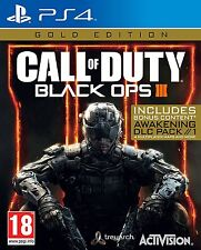 Call of Duty Black Ops 3 Gold Edition (PS4) Nuevo Sellado Playstation 4