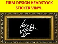 LEMMY MOTORHEAD FIRM WHITE STICKER VISIT MY STORE WITH MANY MORE MODELS