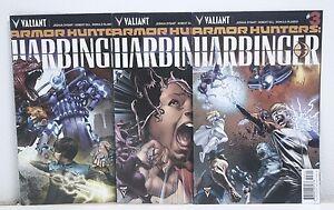 Armor Hunters: Harbinger #1 2 3 VALIANT