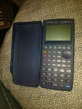 Casio Algebra FX 2.0  Graphic Calculator with Cover works!