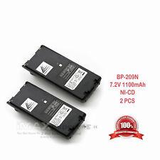 2 x Bp-209N Bp-210N Bp-222N Battery for Ic-A6 Ic-A24 Ic-V8 Ic-V82 Ic-U82 Radio