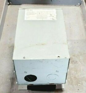 FEDERAL PACIFIC 7.5 KVA WALL MOUNT TRANSFORMER 240/480 HV 120/240 LV P2XLF21-7.5