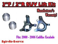 """2002 - 2006 Cadillac Escalade SUV 2WD 3"""" / 2"""" Lift Kit Spindles + Coil Spacer"""