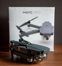 DJI Mavic Pro Quadcopter Drone con fotocamera, Video 4K Ultra HD, Grigio
