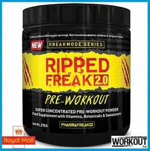 Pharma Freak Ripped Freak 2.0 Pre Workout Super Concentrated 270g 45 SERVINGS