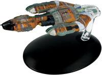 #149 Star Trek Jem Kremin Warship Die Cast Metal Ship-UK/Eaglemoss w Mag