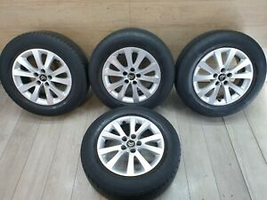 2012 CITROEN C5 VTR+ ALLOY WHEELS SET OF 4 WITH TYRES 225/60 R16 9687895880