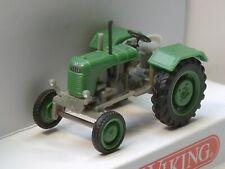 Wiking Traktor Steyr 80, mit Kotflügel, grasgrün - 0876 48 - 1:87