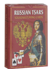 Russian Tsars  54 Playing Cards.Russische Spielkarten Romanov Dynasty