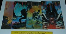 Aliens Genocide 1 2 3 4 set run - Dark Horse Comics movie monster