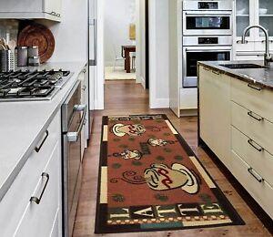 """Kitchen Runner Rugs Mat Carpet Area Floor Rug 20""""X59"""" Non-Slip Rubber Backing"""