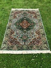 Oriental Rug Multi coloured 100% Cotton Patterned