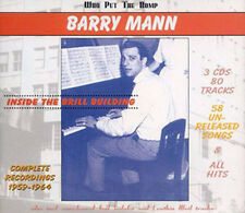 Barry Mann-Inside the Brill Building - 3 CD Set 80 tracks