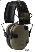 WALKER'S WALKERS RAZOR PATRIOT SERIES SLIM SHOOTER ELECTRONIC MUFFS FDE