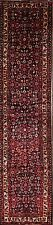 Excellent 200 Knots 3x13 Hamedan Persian Runner Rug Oriental Carpet 13' 4 x 3' 0