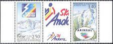 Andorra 1993 Sport Invernali/Sci Resort/TURISMO/MONTAGNE 2v + LBL STP n44082