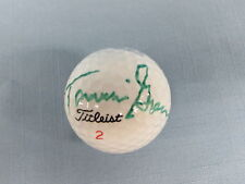 Tammie Green Signed Golf Ball COA
