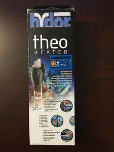 Hydor Submersible Glass Aquarium Heater - Theo 25 Watt