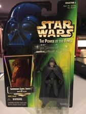 Garindan Long Snoot Star Wars POTF2 Power Of Force 1997 With Holo Green MOC .00
