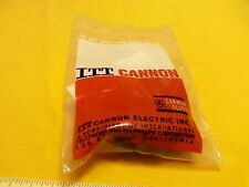 ITT Cannon Connector KPT01F14-19P Straigh 19 Pin with Cable Clamp New in Sealed