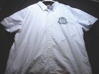 Tommy Hilfiger Slim Fit Blue White Stripe XXl Men's Shirt