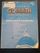 New ListingGo Math - Middle School Grade 7 - Assessment Resources (Tests)
