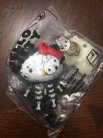 Hello Kitty Skeleton 2019 McDonald's Happy Meal Halloween Toy #2 New Sealed