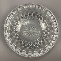 Vintage Princess House Highlights Lead Crystal Ashtray #868 AA