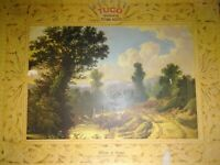 Vintage Tuco Interlocking Picture Puzzle VRY RARE Glories of Nature, Tripl-thick