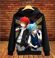 Anime Ansatsu Kyoushitsu Long Sleeve Hoodie Pullover Sweatshirt Coat #DF-02