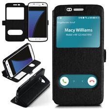 Booklet für Samsung Galaxy S7 Schutz Hülle Handy Tasche 360 Grad Book Case Etui
