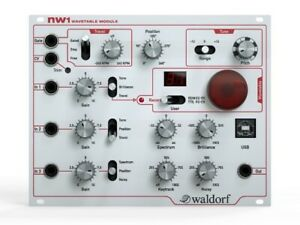 Waldorf NW1 Wavetable Module for Eurorack
