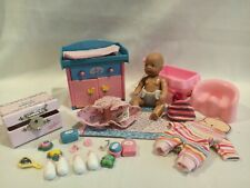 Zapf Creations Baby Born Mini World Lot - Doll, Clothes, Potty and Accessories
