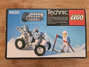 Vintage Technic Lego 8620 Snow Scooter & Figure