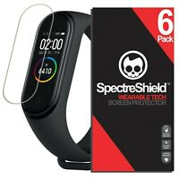 (6-PACK) For  Xiaomi Mi Band 4 Screen Protector Spectre Shield USA Made Lifetime