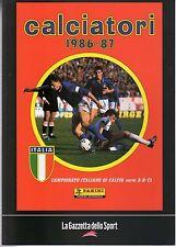 [MAB16] ALBUM CALCIATORI PANINI GAZZETTA DELLO SPORT ANNO 1986-87