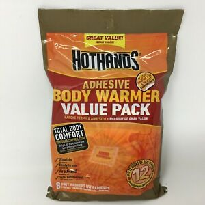 HotHands Adhesive Body Warmer 8 Pack Value Pack 12 Hours of Heat - Exp 11/2023