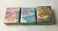 3 x Harry Potter Audio Book Cassettes Philsophers Stone/Chamber Secrets/Azkaban