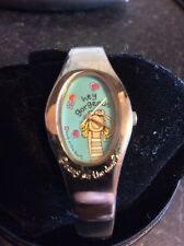 Teen 'Bang on the Door' Watch with Silver Tone Bangle Style Strap.