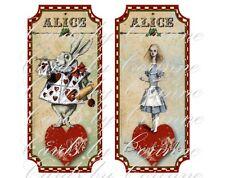 10 Alice in Wonderland Christmas party Drink Me, Eat Me labels