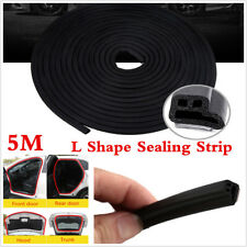16ft Car Door Trunk Seal Strip Rubber Weather Strip Edge Moulding Trim L-Shape
