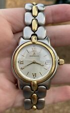 Vintage Bertolucci Men's Watch 18k Yellow Gold and Stainless Steel